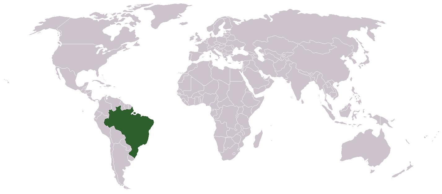BrazilWorldMap